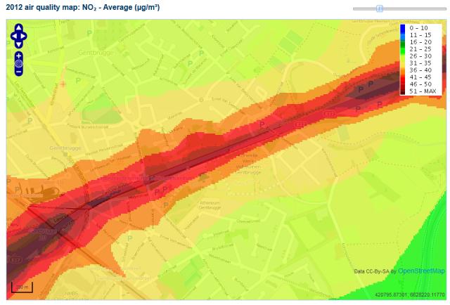 Bron: atmosys.eu/atmosys/faces/services-annual-maps.jsp